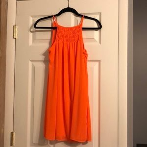 Dresses & Skirts - Sequin Hearts Orange/Salmon Barely Worn Dress